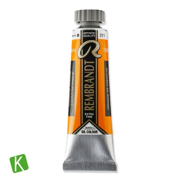 Tinta a Óleo Rembrandt 15ml 211 Cadmium Orange