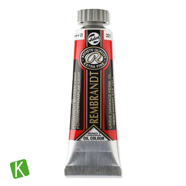 Tinta a Óleo Rembrandt 15ml 321 Permanent Madder Light