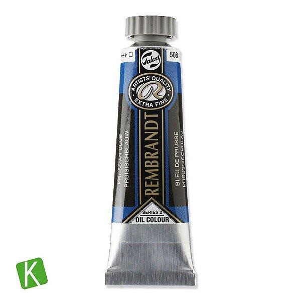 Tinta a Óleo Rembrandt 15ml 508 Prussian Blue