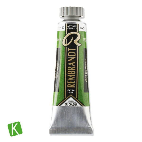 Tinta a Óleo Rembrandt 15ml 623 Sap Green