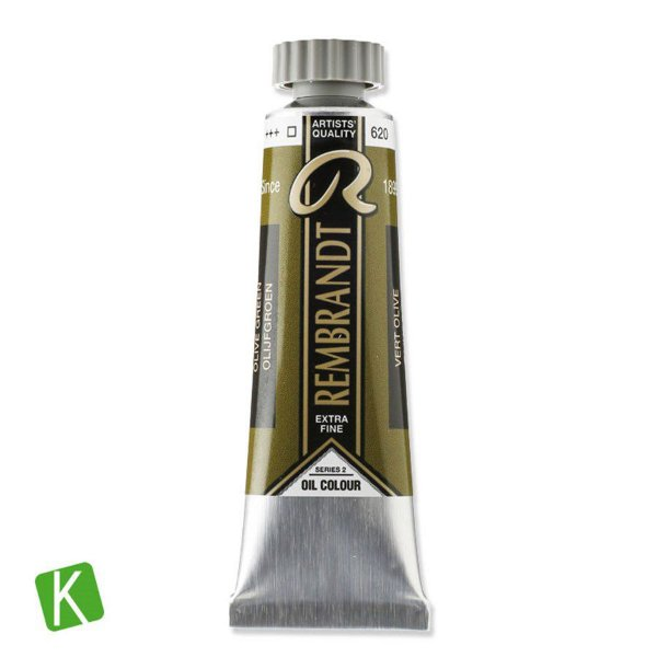Tinta a Óleo Rembrandt 15ml 620 Olive Green
