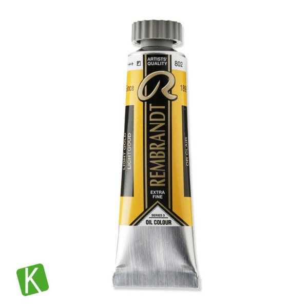 Tinta a Óleo Rembrandt 15ml 802 Light Gold