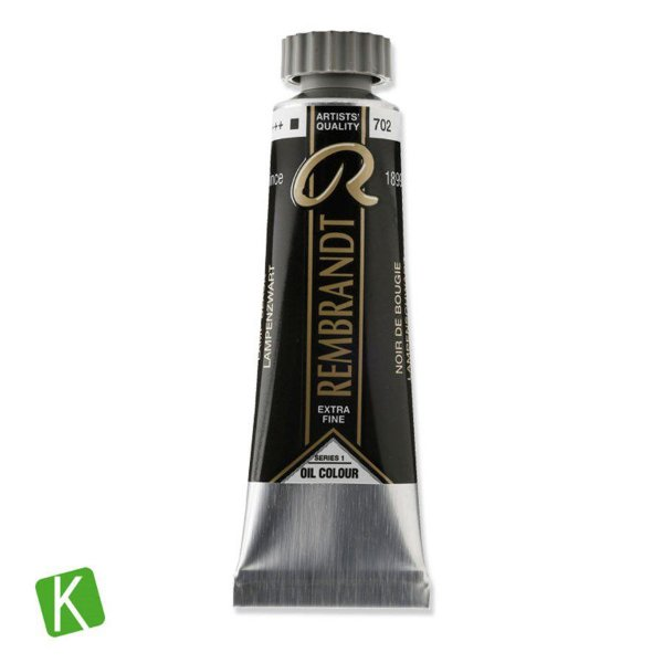 Tinta a Óleo Rembrandt 15ml 702 Lamp Black