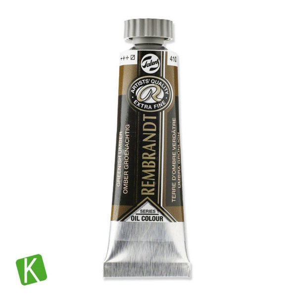 Tinta a Óleo Rembrandt 15ml 410 Greenish Umber