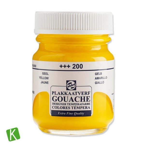 Guache Talens Extra Fine 50ml 200 Yellow