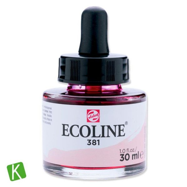 Ecoline Talens 381 Pastel Red 30ml