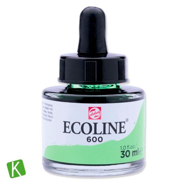 Ecoline Talens 600 Green 30ml