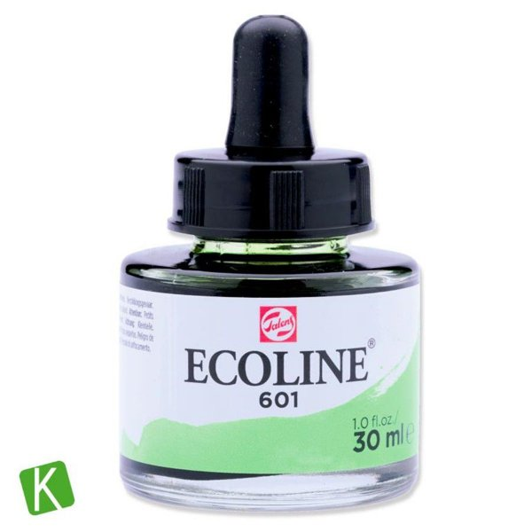 Ecoline Talens 601 Light Green 30ml