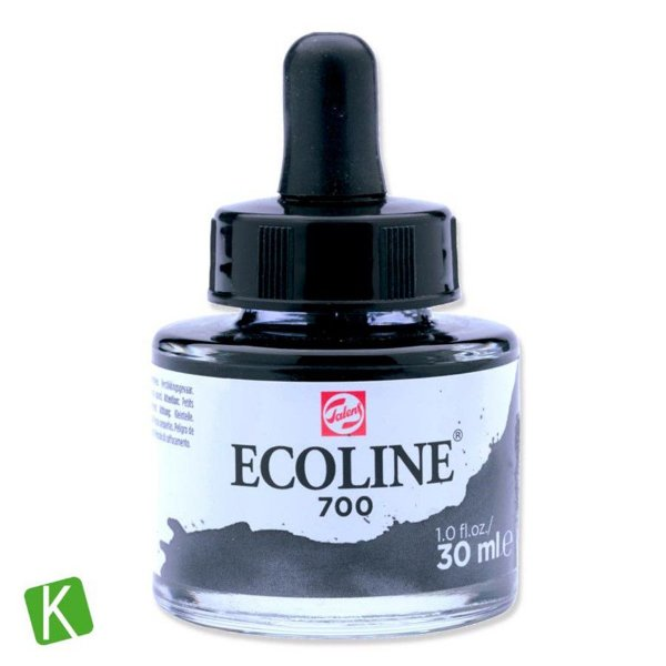 Ecoline Talens 700 Black 30ml