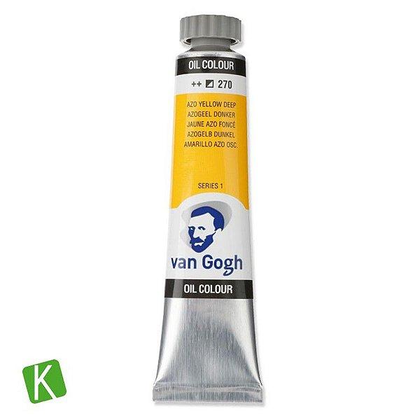 Tinta a Óleo Van Gogh 20ml 270 Yellow Deep