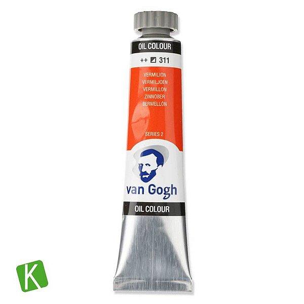 Tinta a Óleo Van Gogh 20ml 311 Vermilion