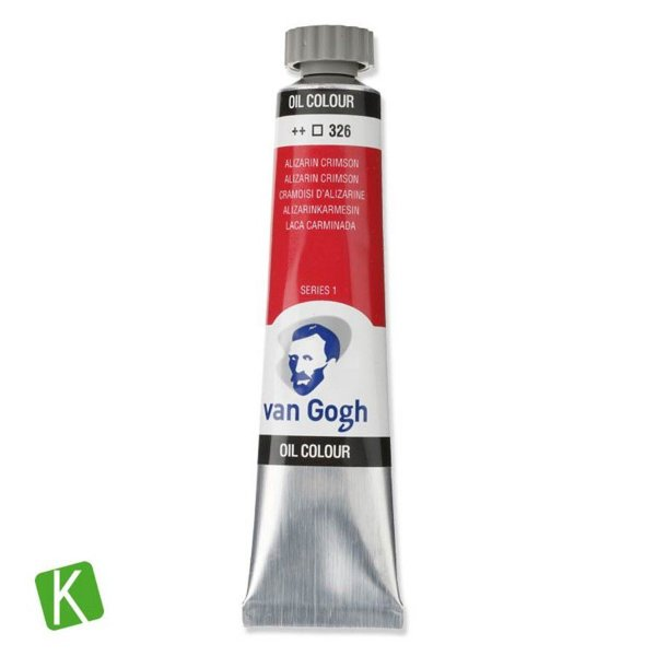 Tinta a Óleo Van Gogh 20ml 326 Alizarin Crimson