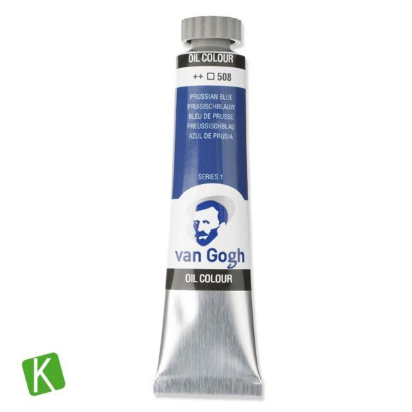 Tinta a Óleo Van Gogh 20ml 508 Prussian Blue