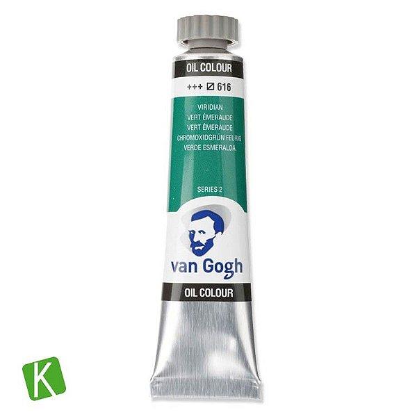 Tinta a Óleo Van Gogh 20ml 616 Viridian