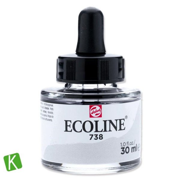 Ecoline Talens 738 Cold Grey Light 30ml