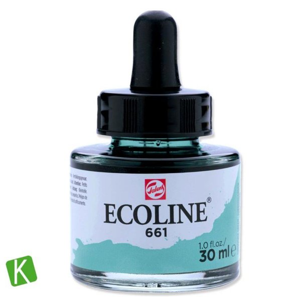 Ecoline Talens 661 Turquoise Green 30ml