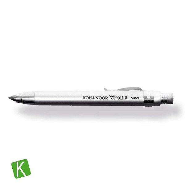 Portamina 5,6mm Versatil Koh-I-Noor Prata