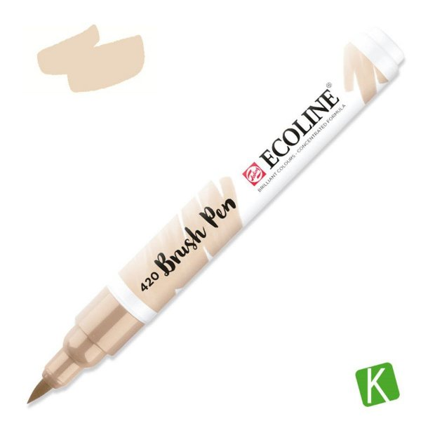 Caneta Ecoline Brush Pen Beige 420