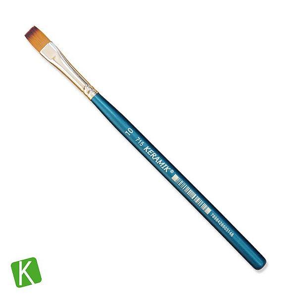 Pincel Chato Keramik 715 Premium