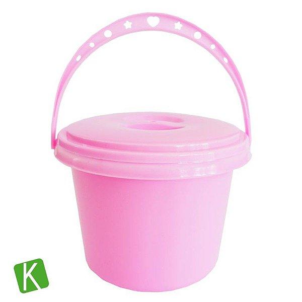 Balde Lava Pincel de Plástico Keramik 5 Peças