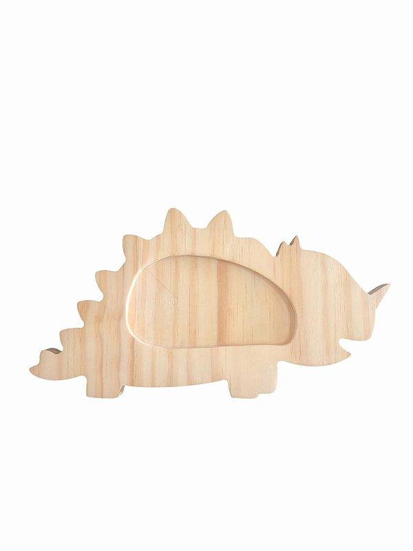 Prato infantil em madeira - Dino 2