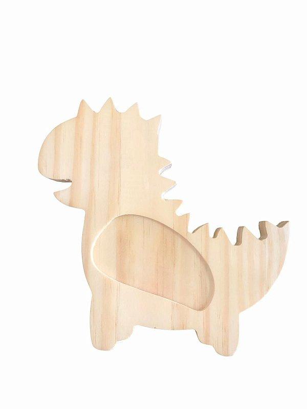 Prato infantil em madeira - Dino 3