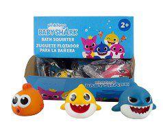 Baby Shark Figuras de Banho Display