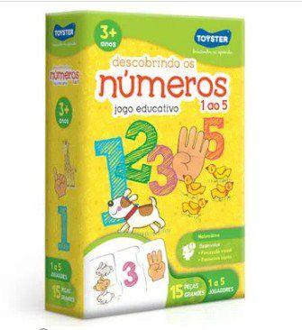 Descobrindo os Números de 1 ao 5