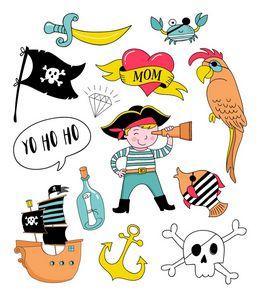 Tatuagem Temporária para Crianças - Praia