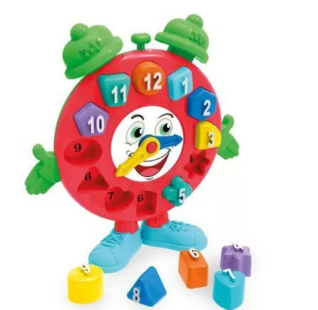 Brinquedo Educativo Tá Na Hora