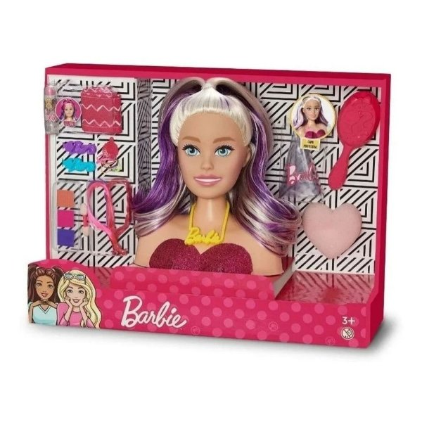 Busto Barbie Styling Faces