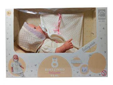 Boneca Bebezinho Real Batizado