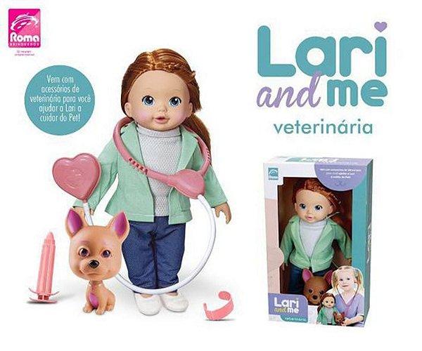 Boneca Lari and Me Collection Veterinária