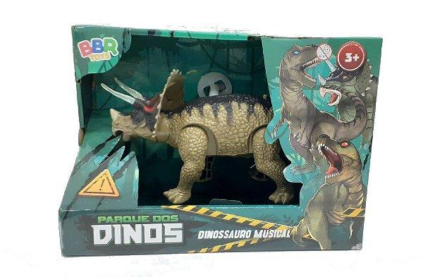 Boneco Dinossauro Musical Parque dos Dinos