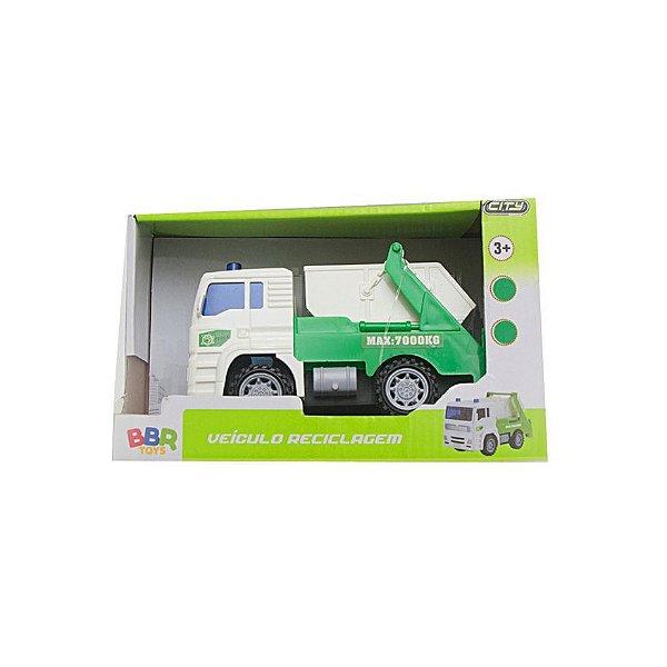 Veículo Caminhão de Reciclagem