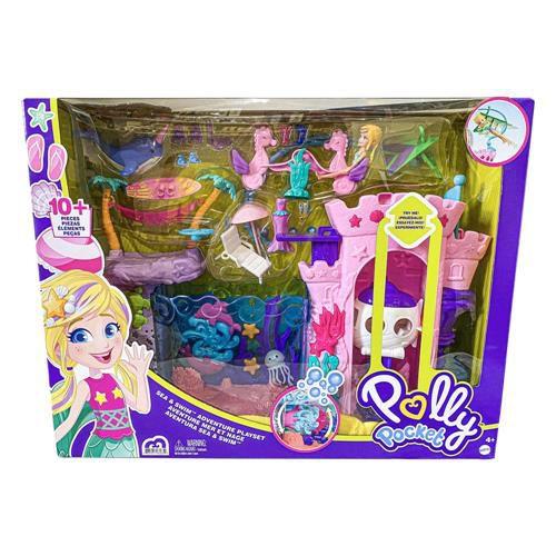Polly Pocket Playset Aventuras de Sereia