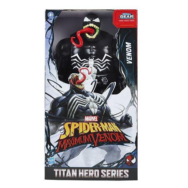 Homem Aranha Boneco Titan Hero Venom