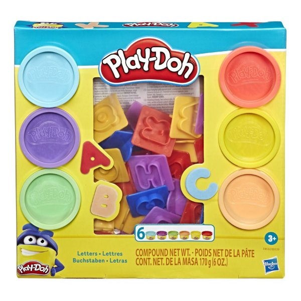 Play Doh Letras