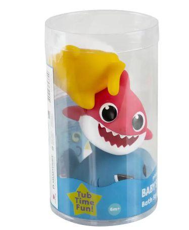 Baby Shark pack com 3 figuras de banho