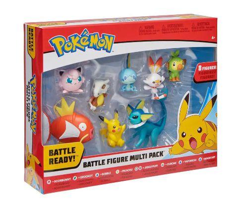 Pokemon Multipack com figuras de batalha