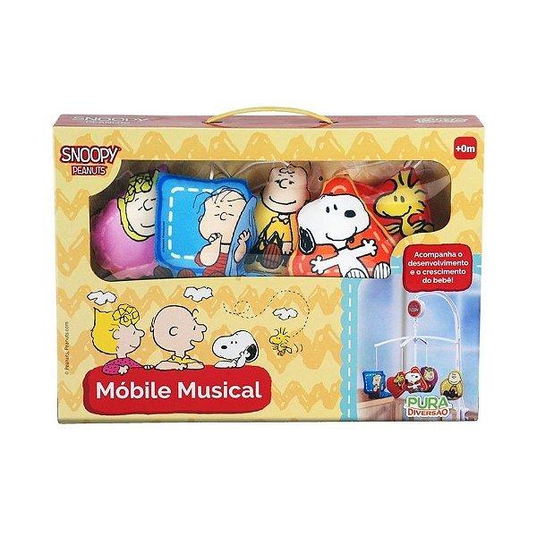 Móbile para Berço Musical Snoopy