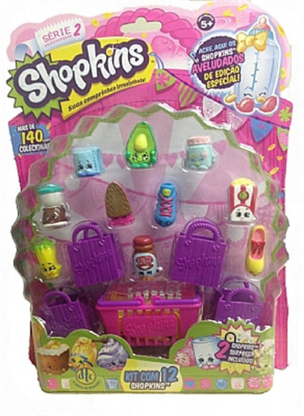 Shopkins Kit Blister com 12