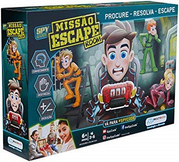 Jogo Missão Escape Room