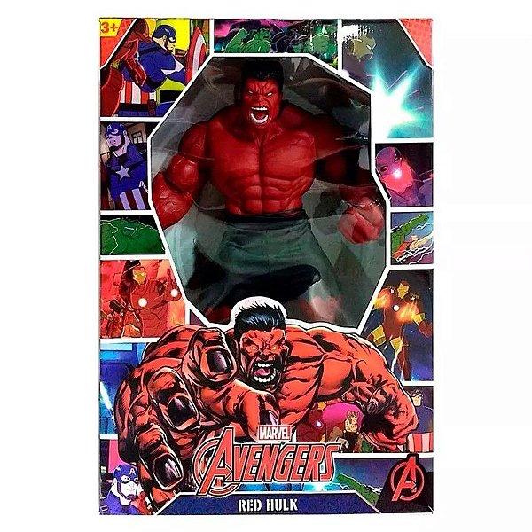 Boneco Hulk Vermelho - Revolution