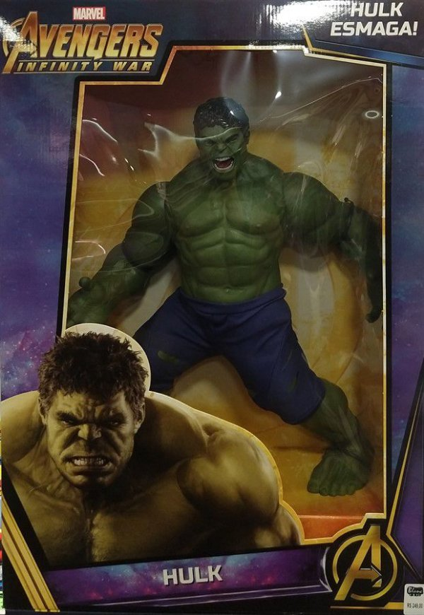 Boneco Hulk - Avengers Infinity War