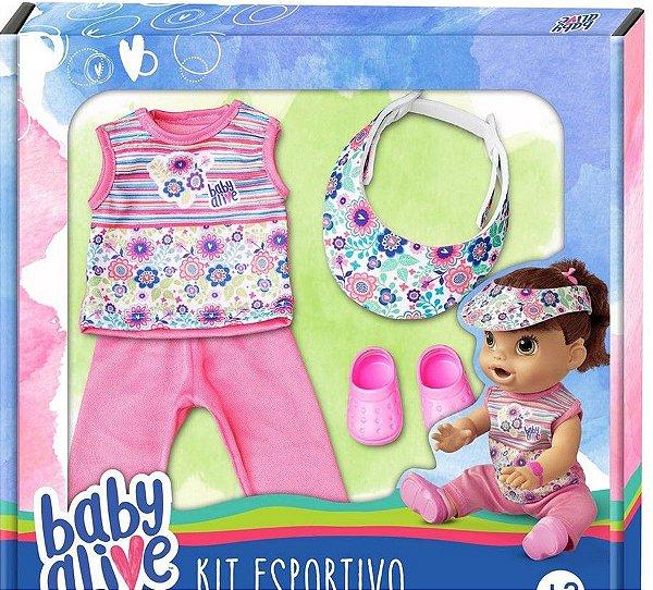 Baby Alive Kit Esportivo