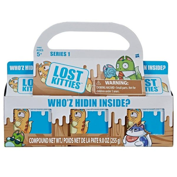 Lost Kitties 3 Caixas Surpresas