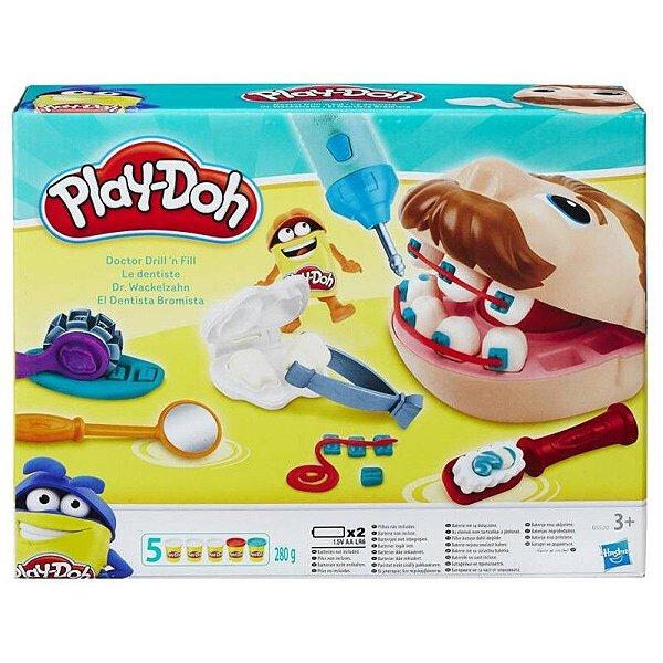 Play-Doh Brincando de Dentista