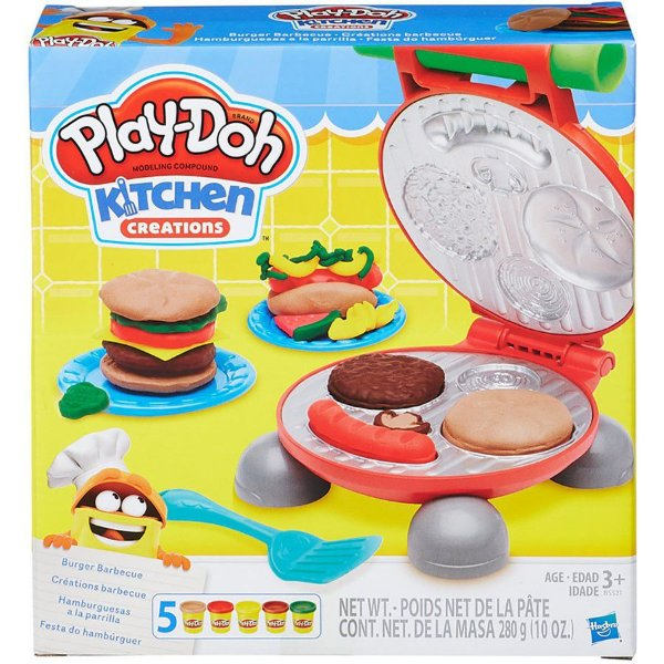 Play-Doh Festa do Hambúrguer