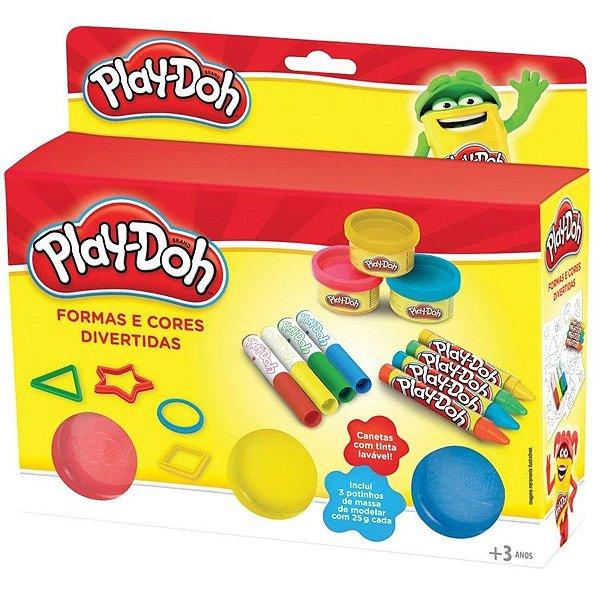Play-Doh Formas e Cores Divertidas